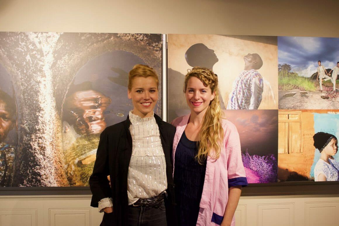 Bénédicte Kurzen (gauche) et Sanne de Wilde (droite) au World Press Photo Montréal  © Alexandra Jurecko, 2019