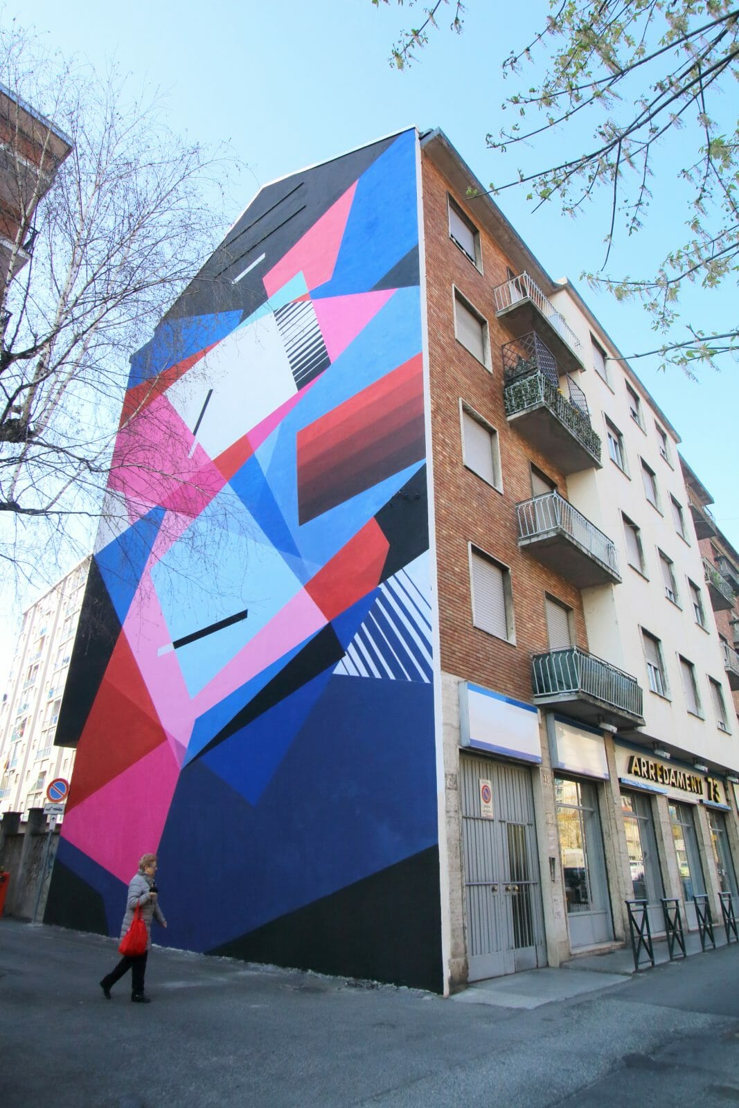 Collegno Si-Cura par le street artist Greg Jager