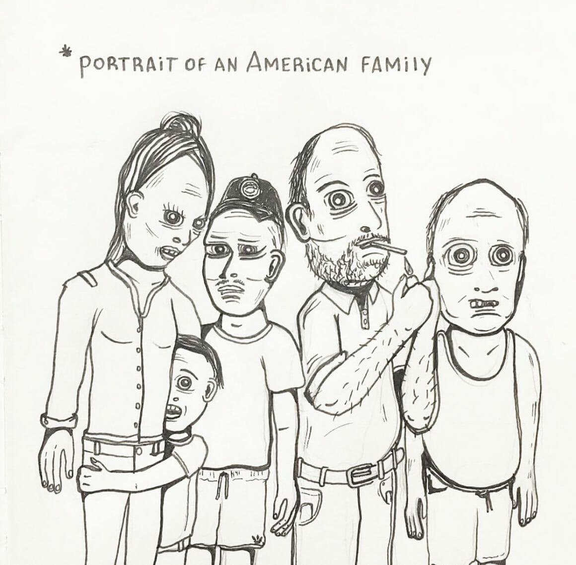 Mygalo portrait de famille
