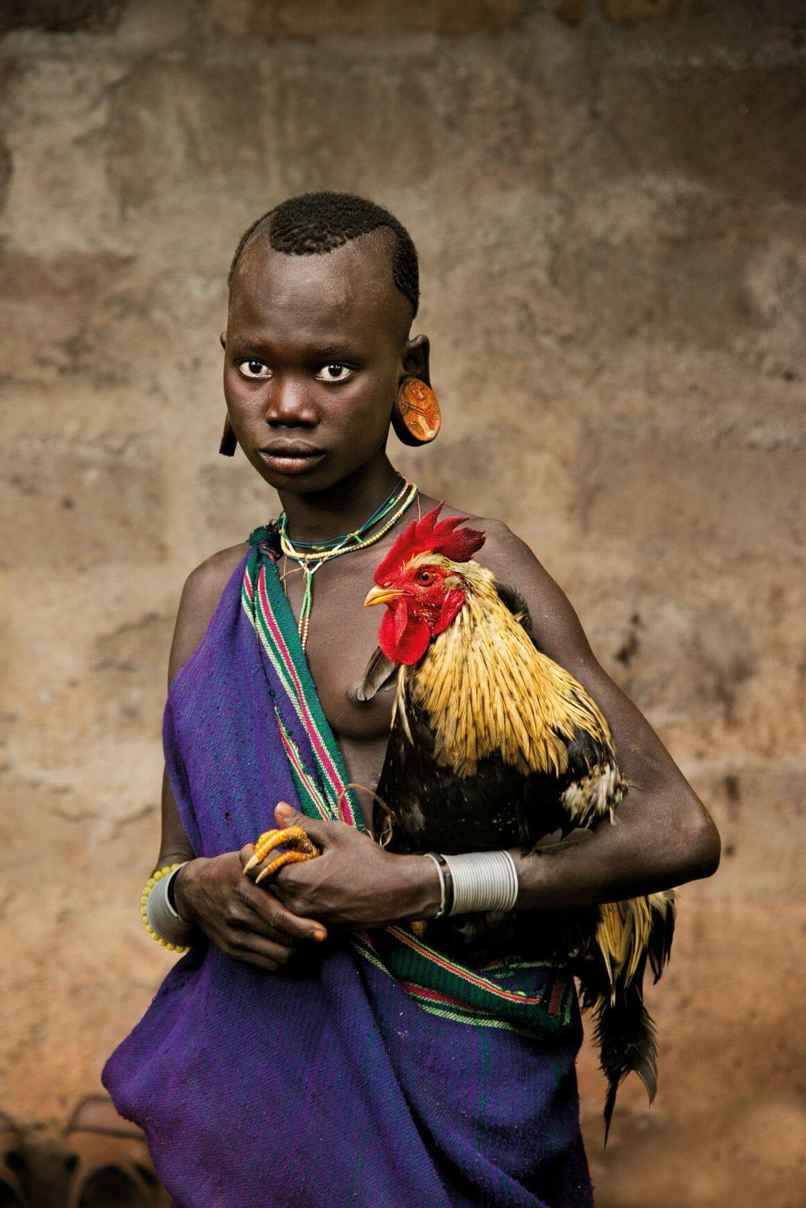 """Steve McCurry, """"Animals"""". Photographies publiées aux Editions Taschen, Ethiopie."""