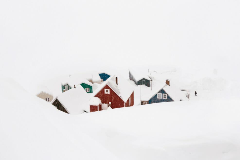 "Christophe Jacrot, photographie issue du livre d'art ""Neiges"", Groenland."