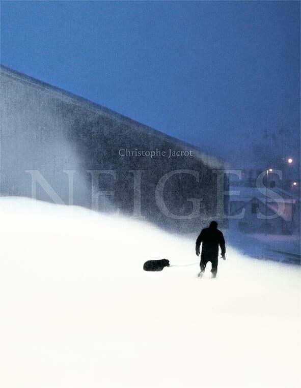 Neiges spectrales dans les photographies de Christophe Jacrot. 1