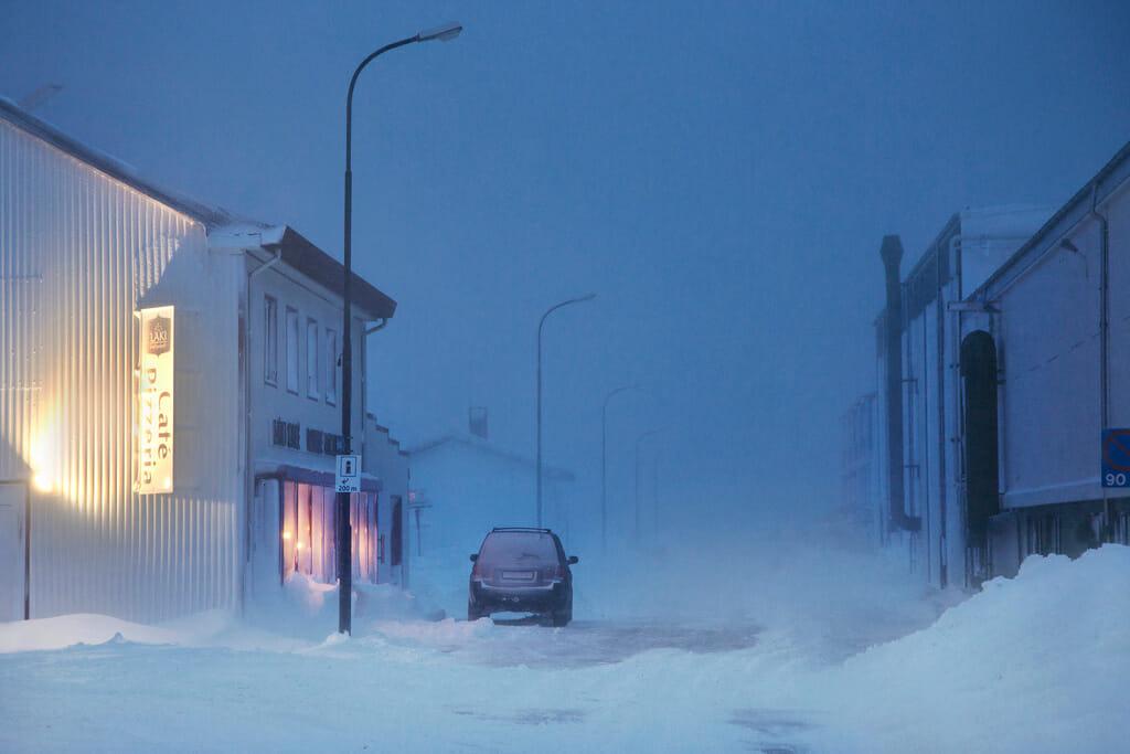 neige en ville