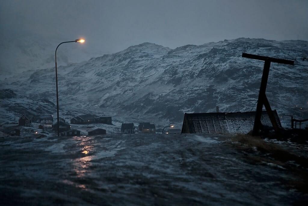 la vague, photo de paysage enneigé par Christophe Jacrot.