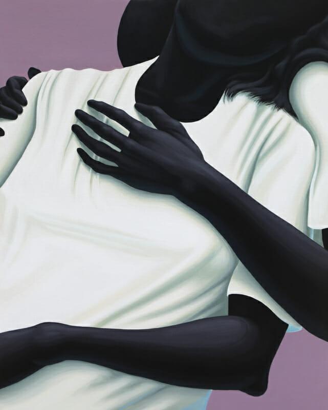 Alex Gardner, une femme dans les bras d'un autre personnage.