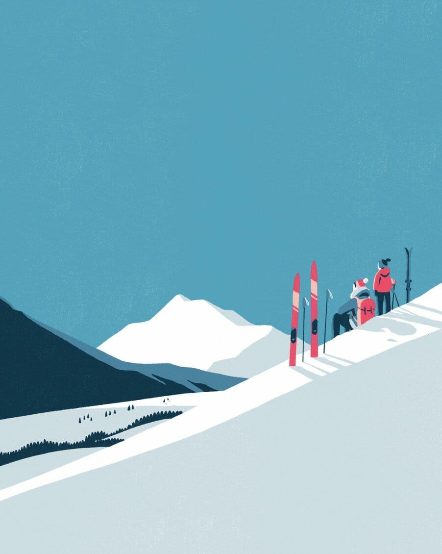 Montagne et contemplation par Tom Haugomat
