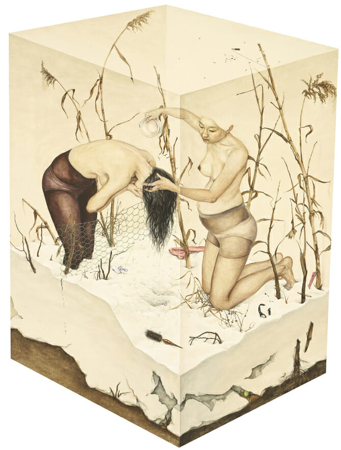 """"""" The Last Winter """" de Lee Jinju. L'oeuvre a été réalisée en 2011."""