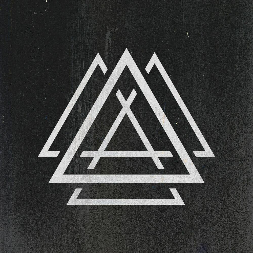 """Logo Aalson : Triangles imbriqués dans d'autres à l'air de lettre """"A"""""""