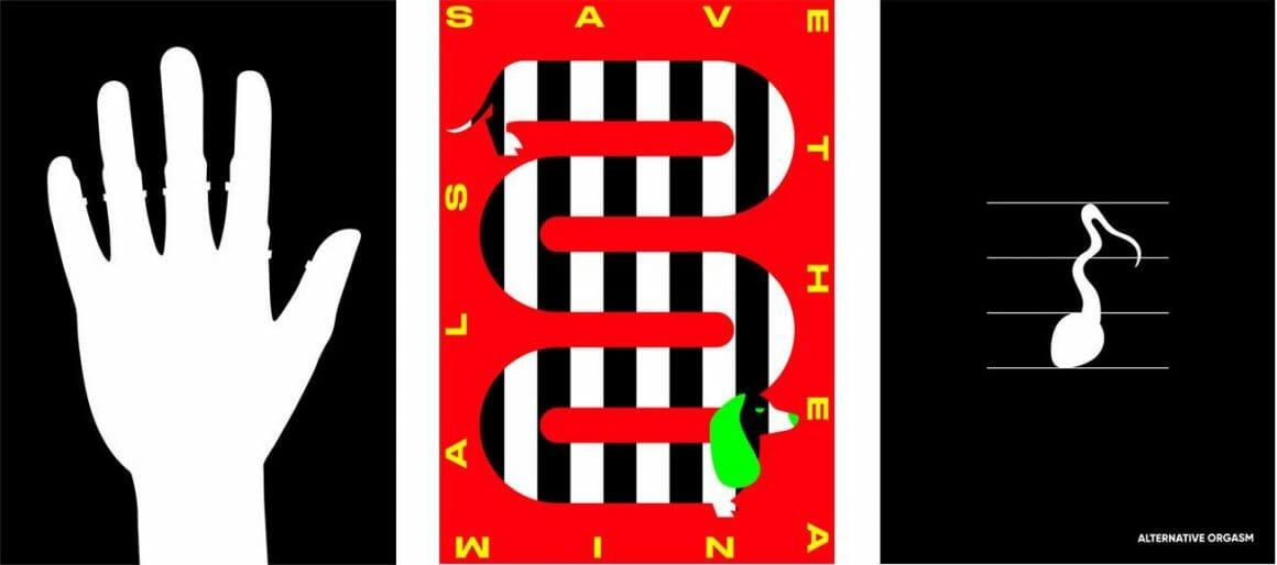 Nuket Güner Çorlan minimalist poster