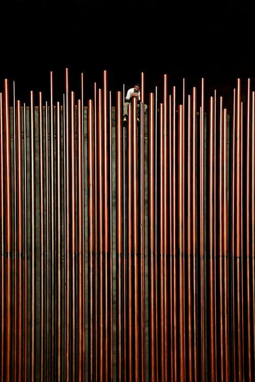 """ Peeps as Staws "" de Serge Najjar"