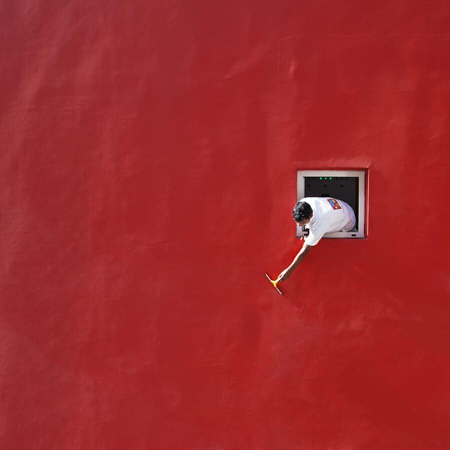 """"""" Red Swipe """" de Serge Najjar"""