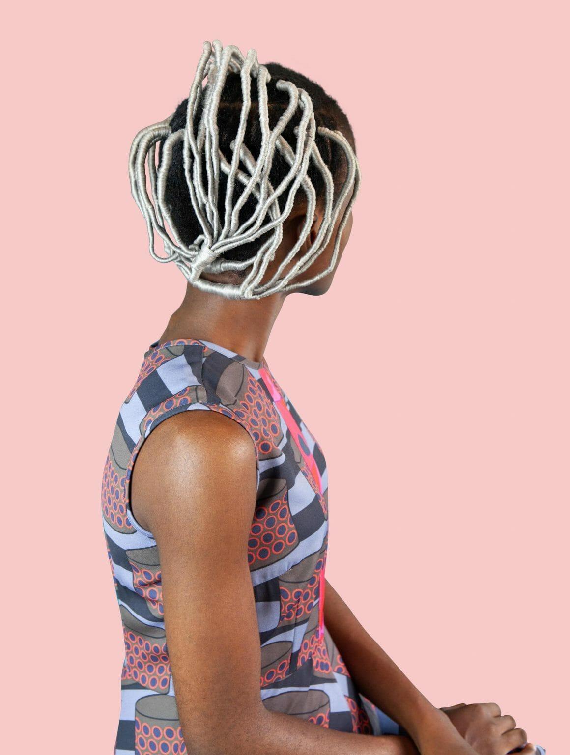 Silver Agaracha coiffure africaine