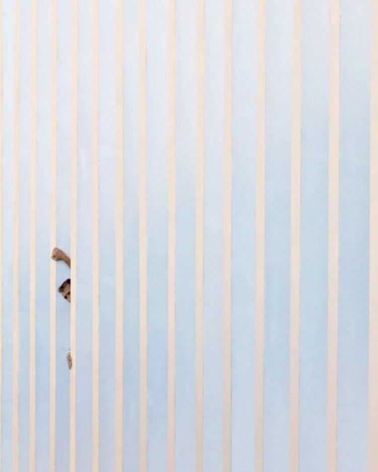 """"""" Tribute to Agnes Martin """" de Serge Najjar, photographie datant de 2016."""