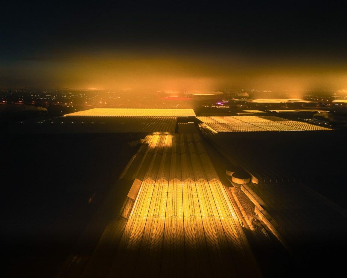 photo aérienne The Greenhouse Series par Tom Hegen