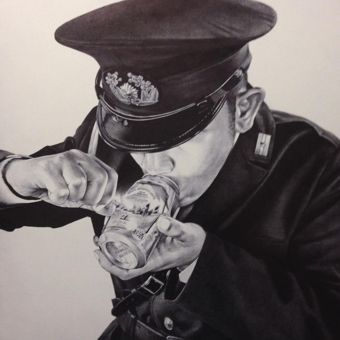 Policier qui se drogue par Shohei Otomo Hakuchi