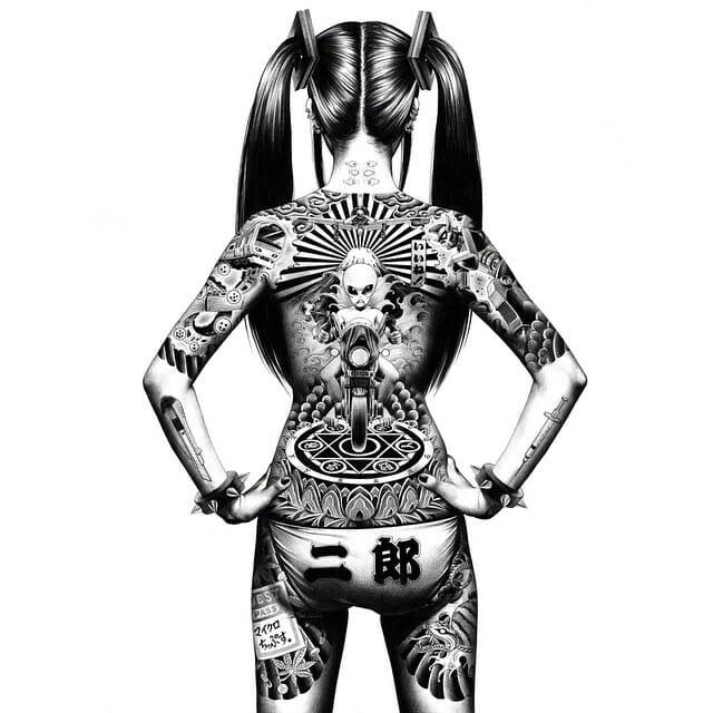 tatouage de Yakuza
