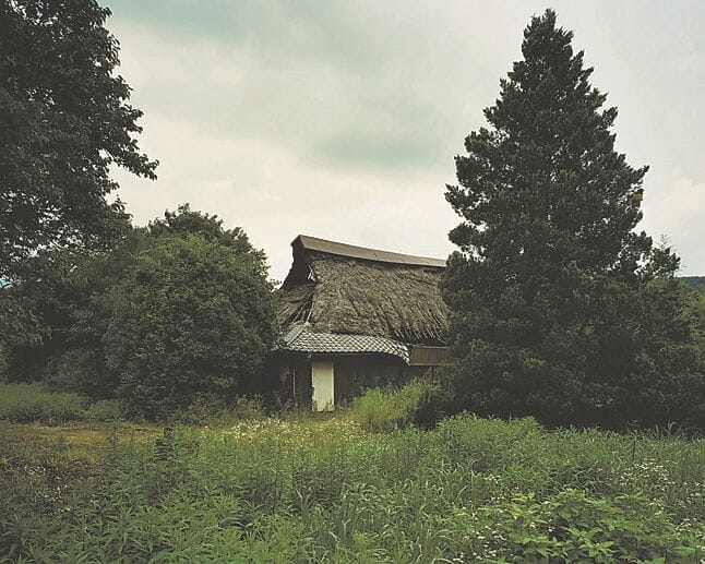 Yoshiki Hase, une maison dans la campagne japonaise.