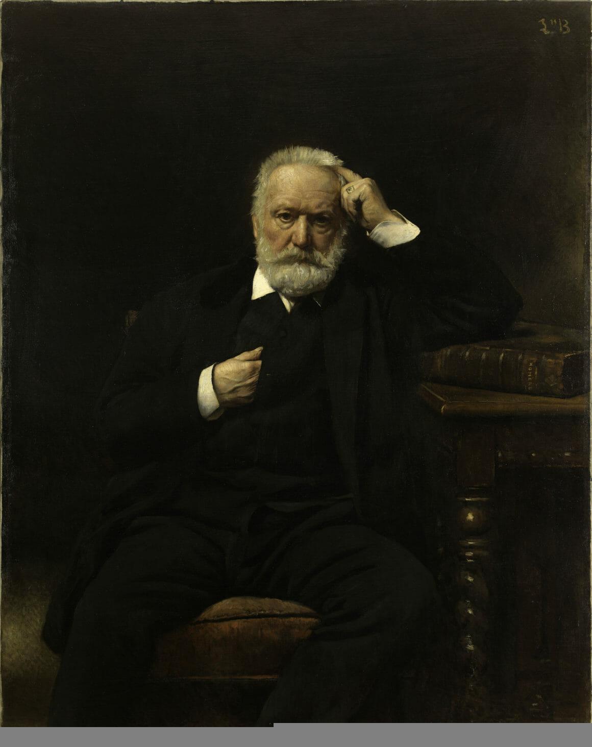 Portrait de M. Victor Hugo par Léon Bonnat.