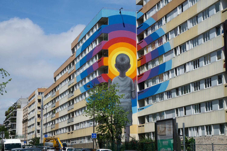 Portrait de seth globepainter street art