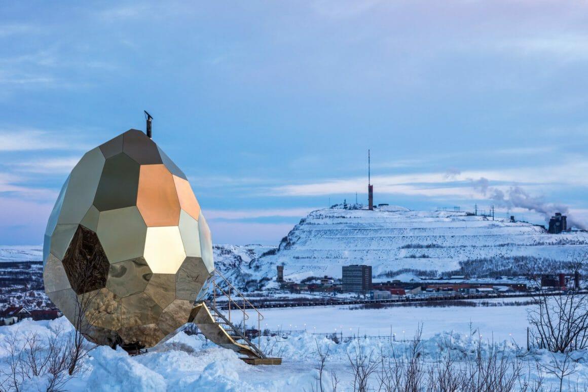 """Solar Egg"""" a été créée en 2017 pour la ville de Kiruna"""