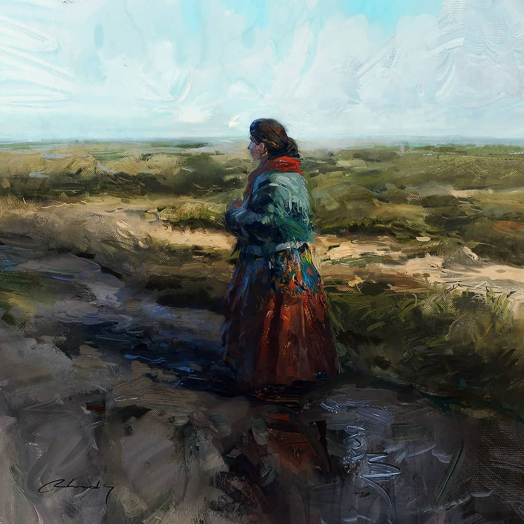 Peinture Artem Chebokha