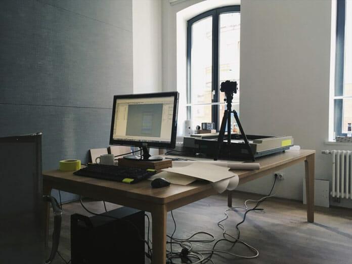 Photo de l'atelier de Gunther Kleinert