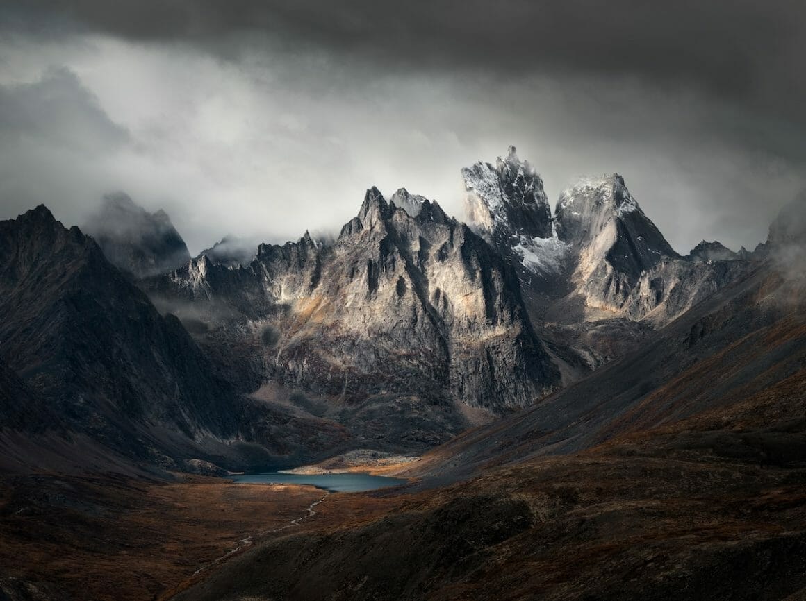Grizzly Lake, Yukon, Canada by Blake Randall (Canada), Third Place, The International Landscape Photographer of the Year 2019.