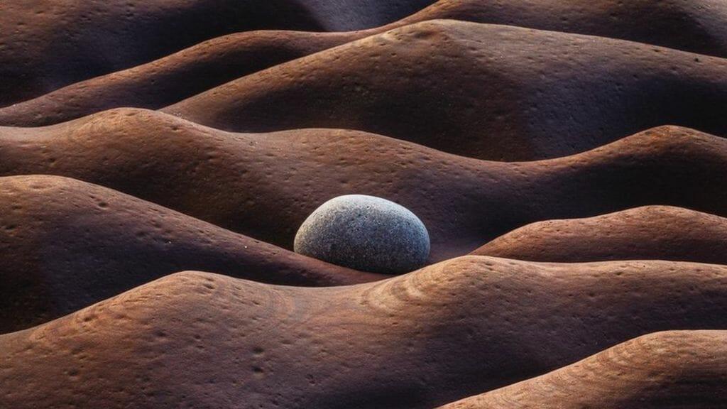 Fleswick Bay, England by Oleg Ershov (Russian Federation), Winner, The International Landscape Photographer of the Year 2019.