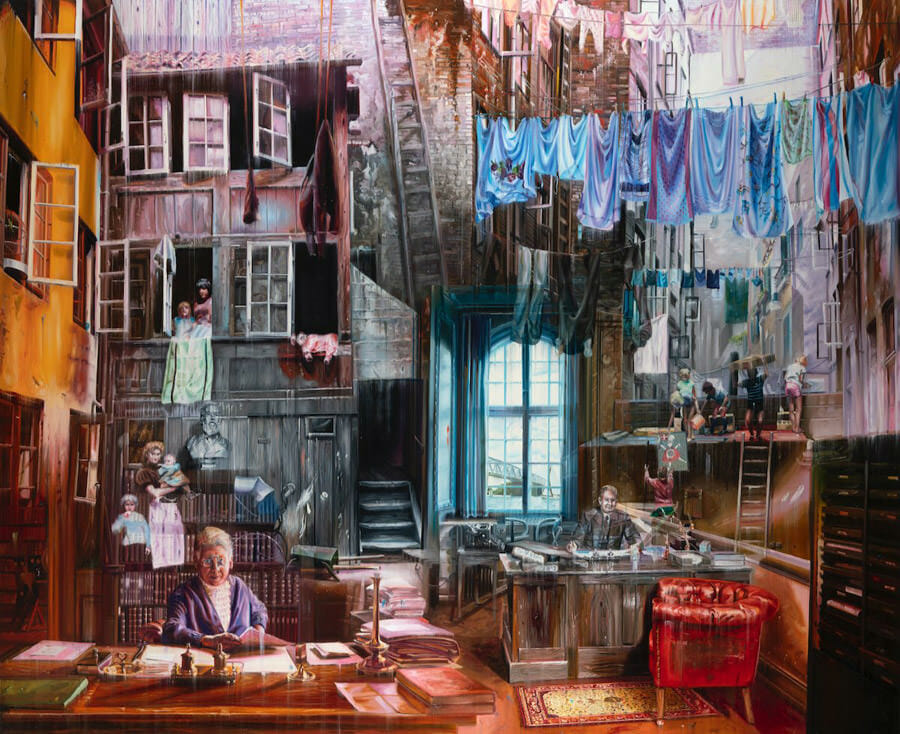 Jacob Brostrup peinture
