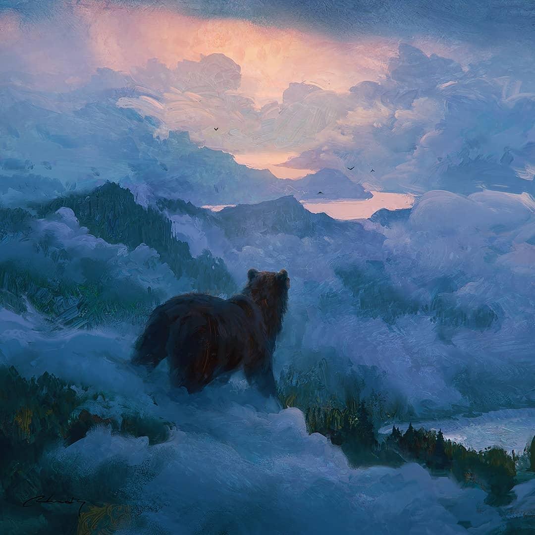 ours dans la nature par Artem Chebokha