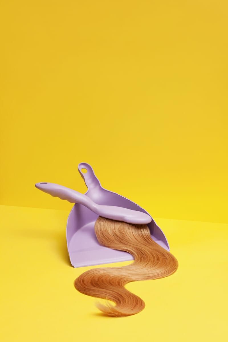 Photographie de Ilka & Franz. Balayette à cheveux.