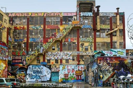 5Pointz street art legal