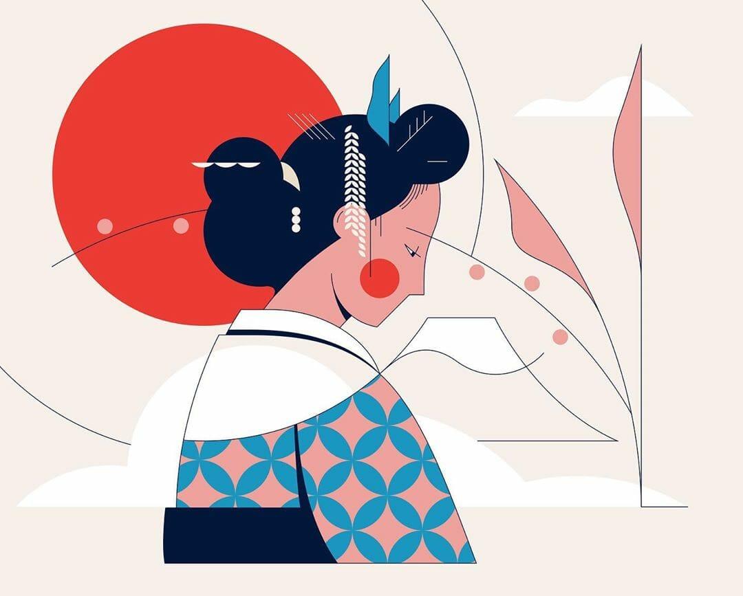 Kimono par Calvin Sprague