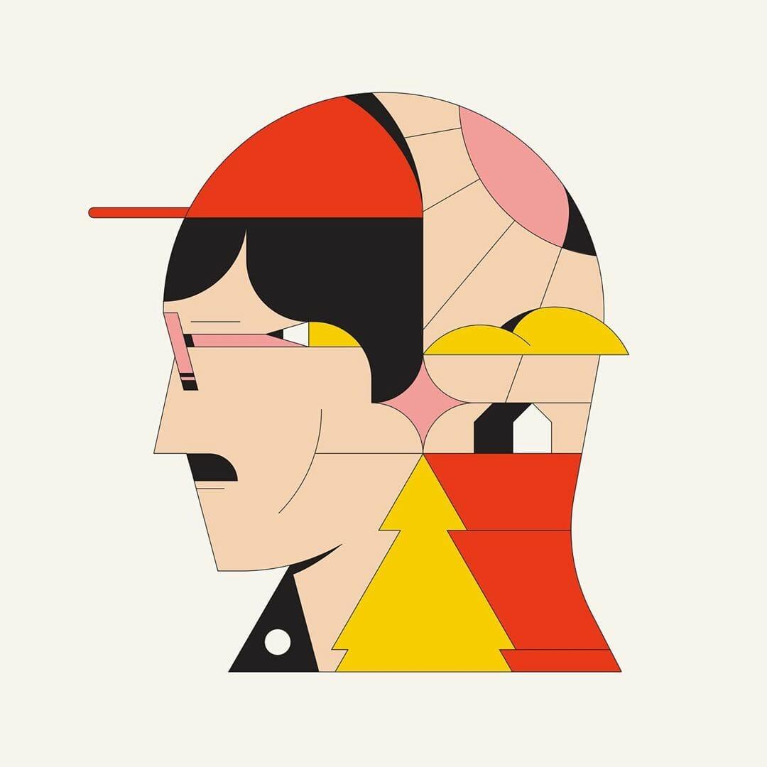 The Artist art visuel par Calvin Sprague