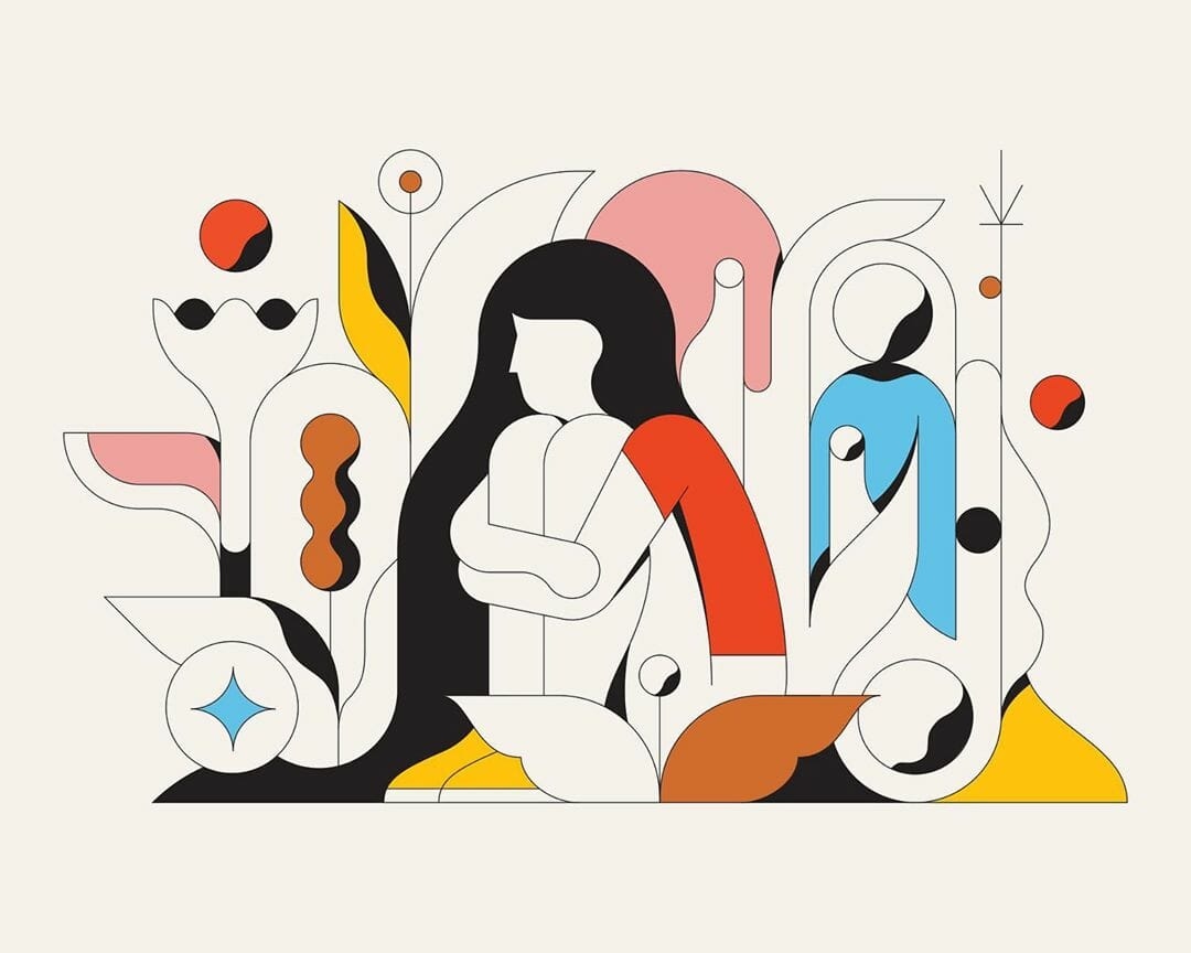 Solitude illustration par Calvin Sprague