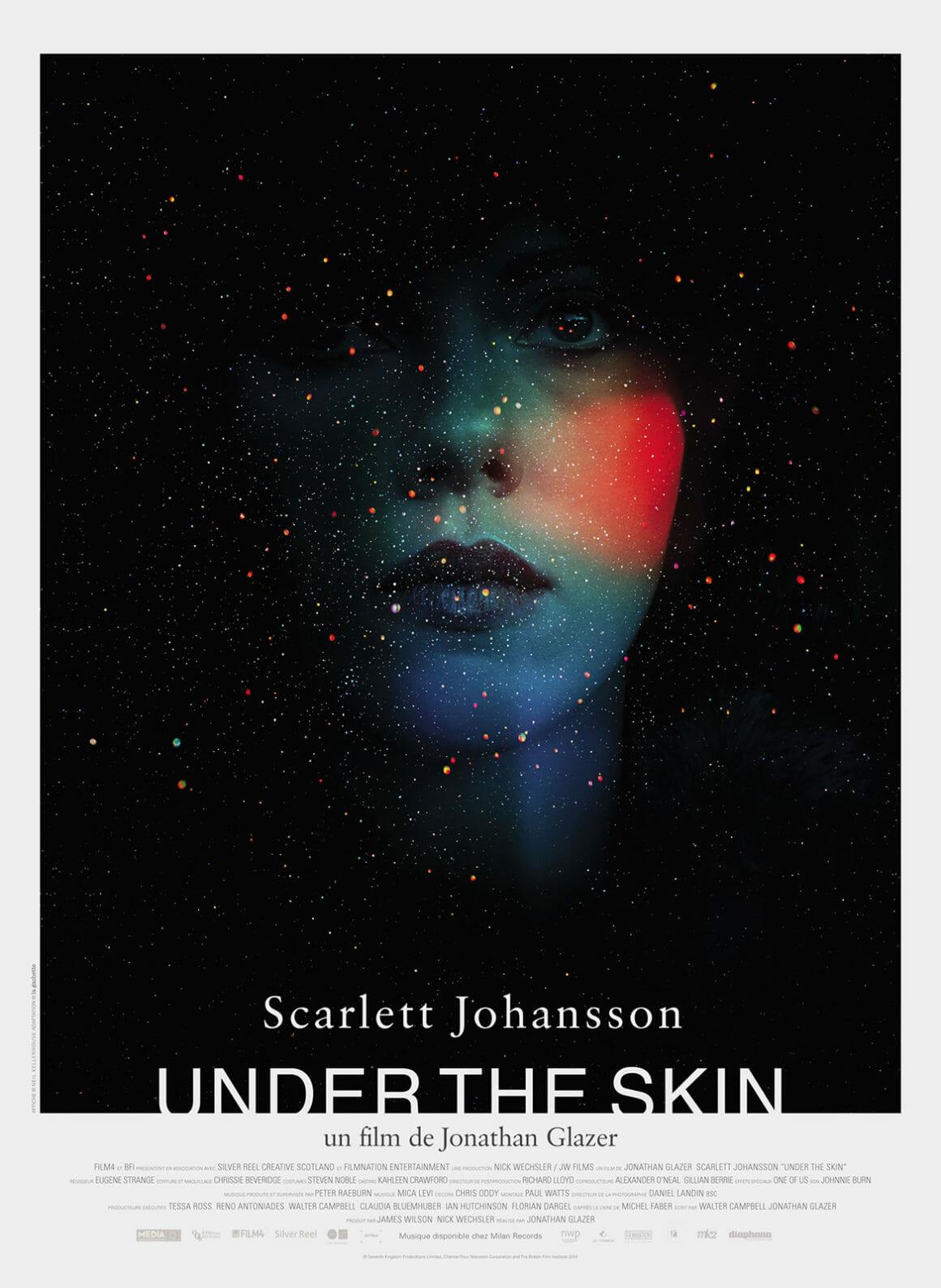 Affiche de Under The Skin, réalisé par Jonathan Glazer