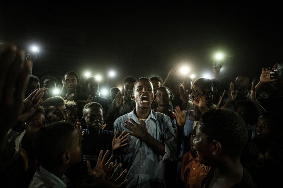 Le 19 juin 2019 à Khartoum au Soudan. YASUYOSHI CHIBA / AFP