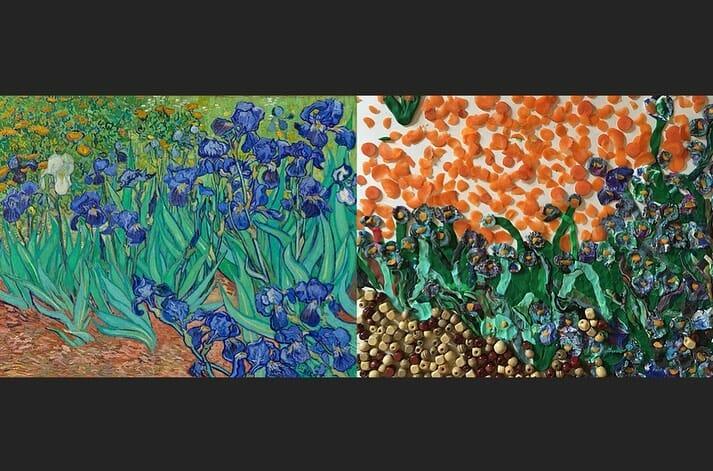Iris, Van Gogh