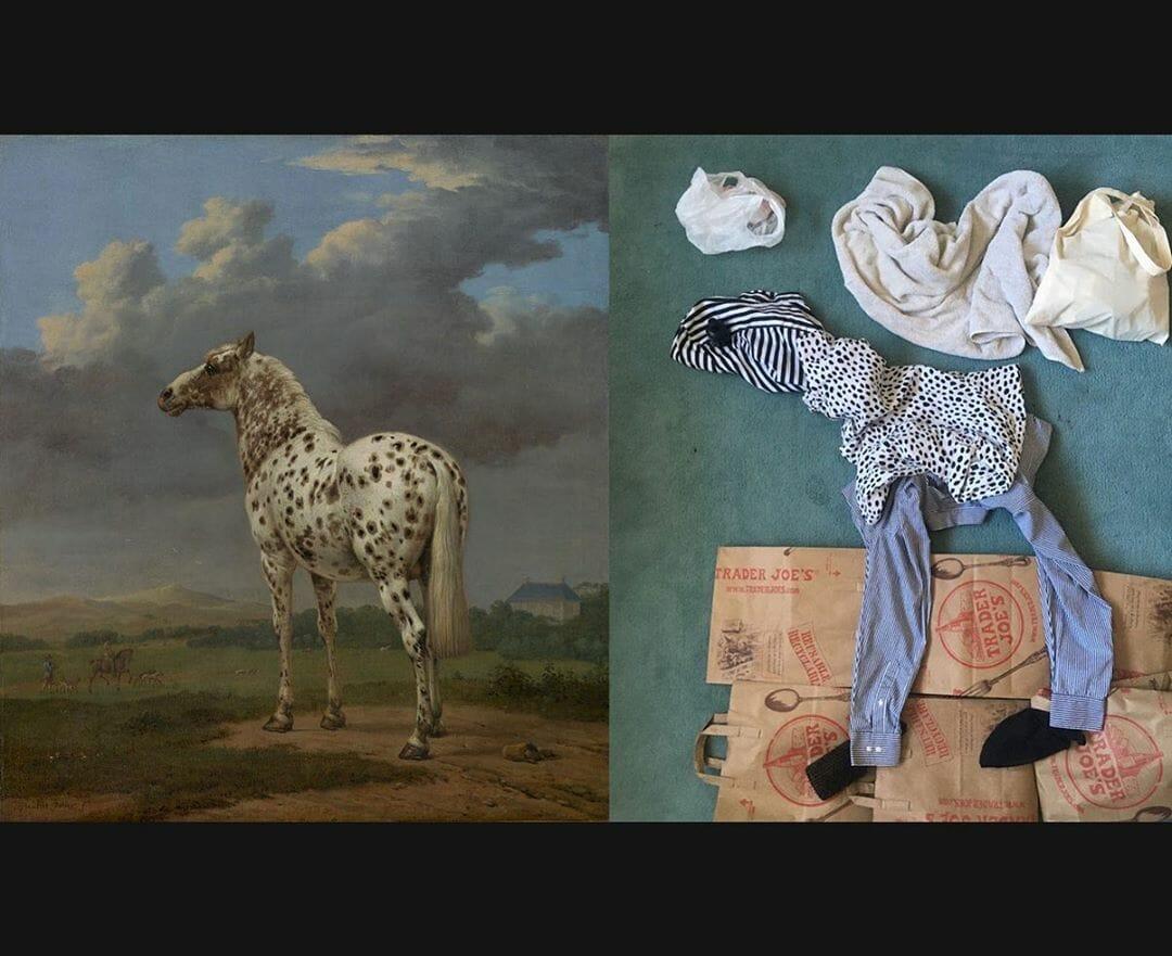 Le cheval pie, Paulus Potter