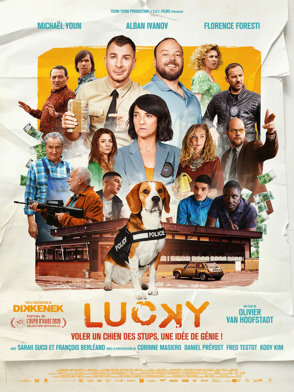 affiche du film lucky