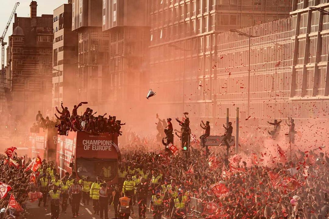 Cliché de Oli Scarff pris à Liverpool en juin 2019. Oli Scarff / AFP