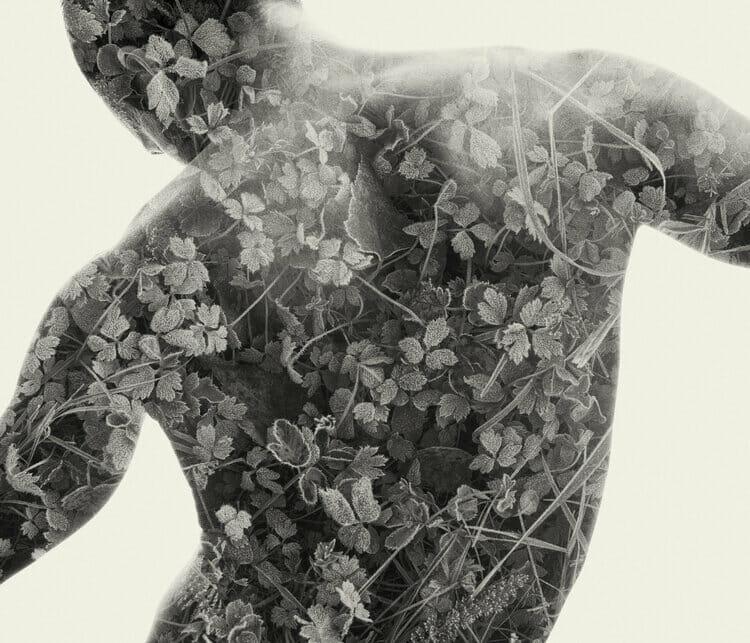 corps de dos  We Are Nature VI par Christoffer Relander