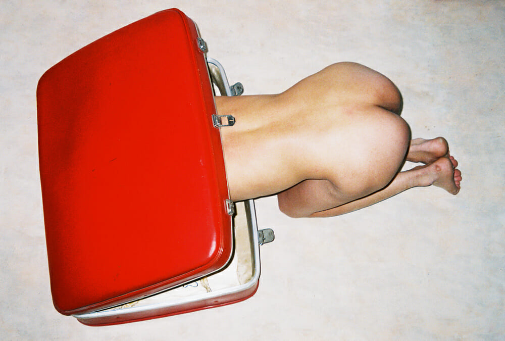 valise rouge corps