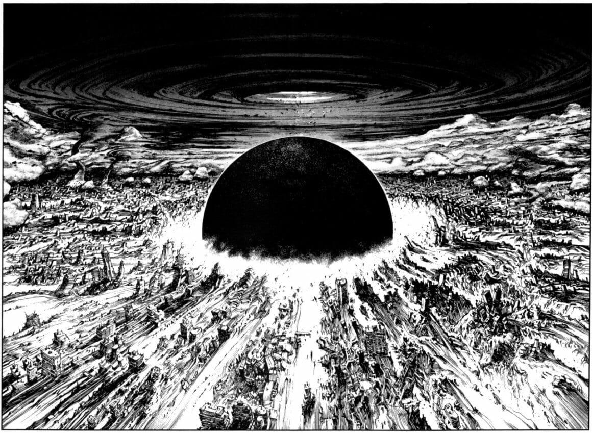 extrait d'Akira par Katsuhiro Otomo