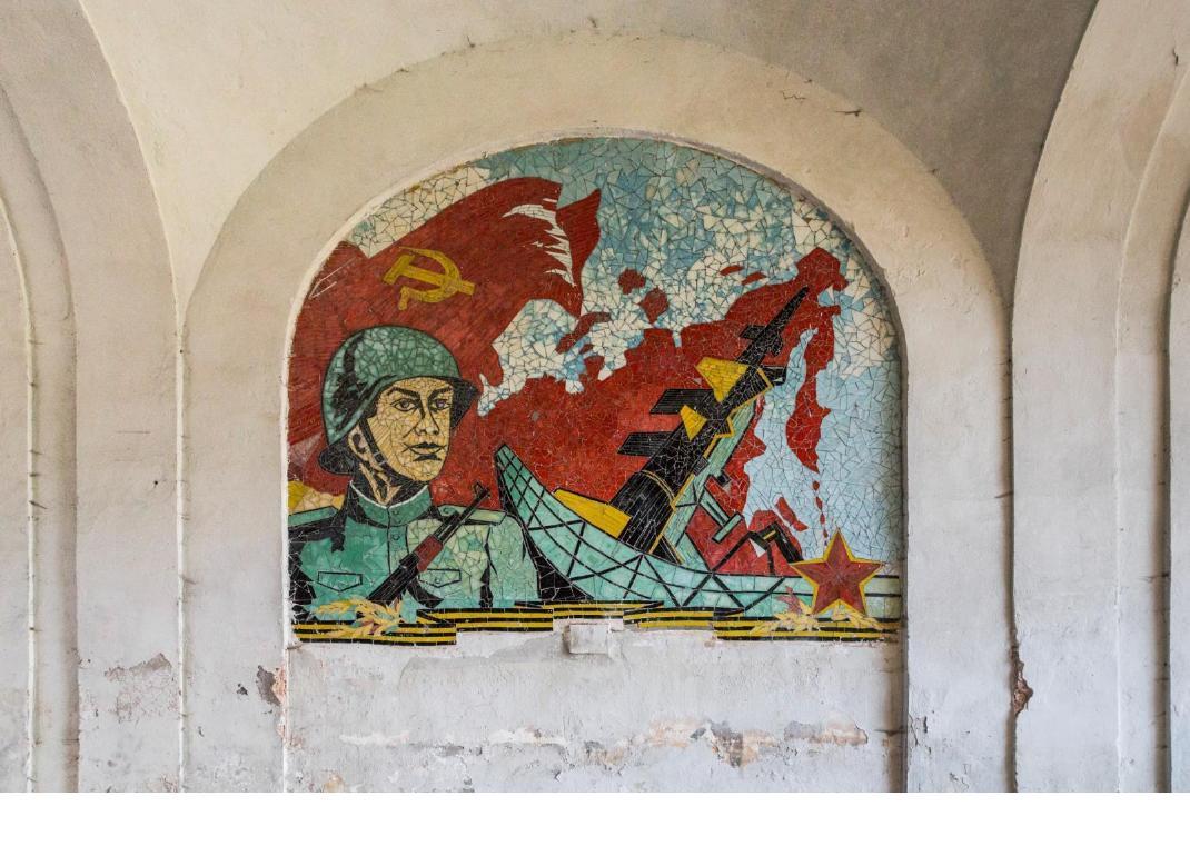 fresque soviétique Jonk