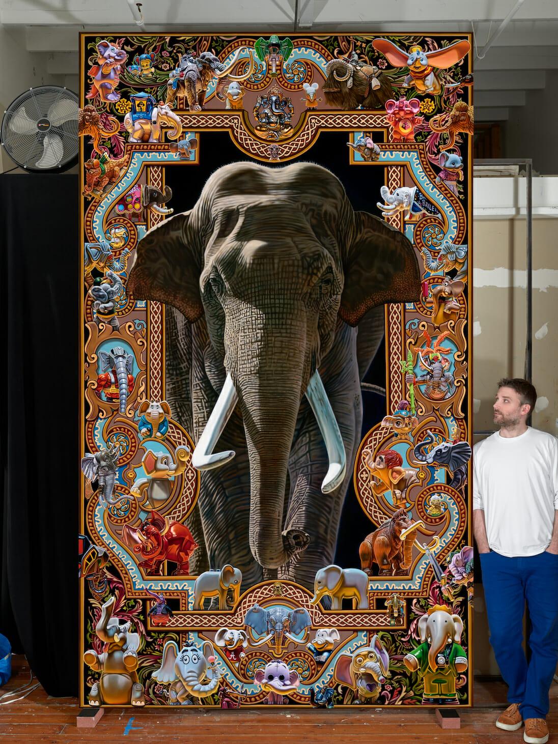 Elephantidae par Robert Burden