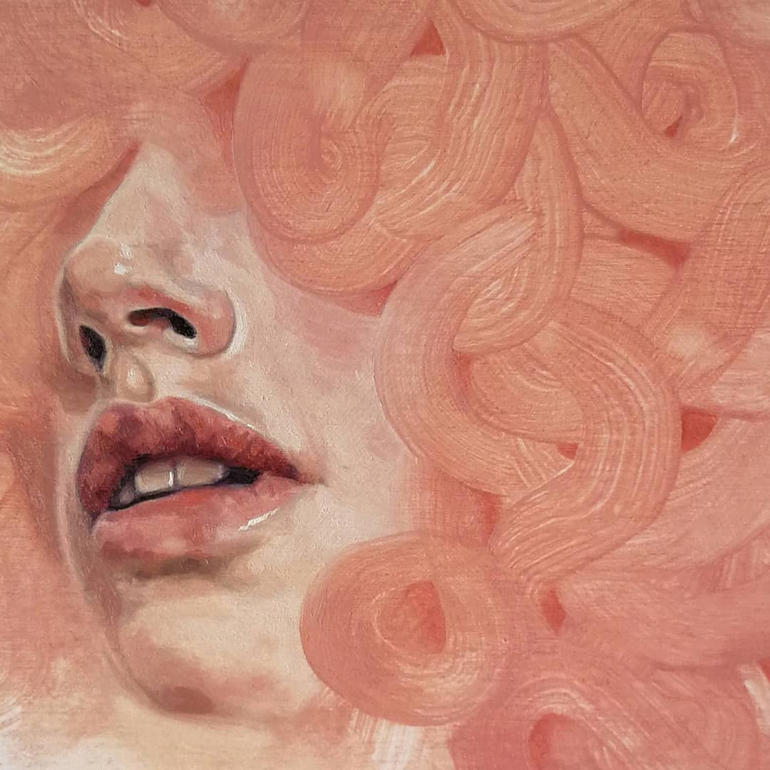 portrait par l'artiste Lucy Pass