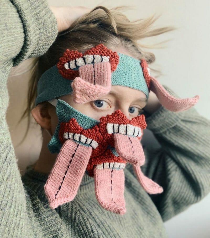 masque terrifiant coronavirus Ýrúrarí
