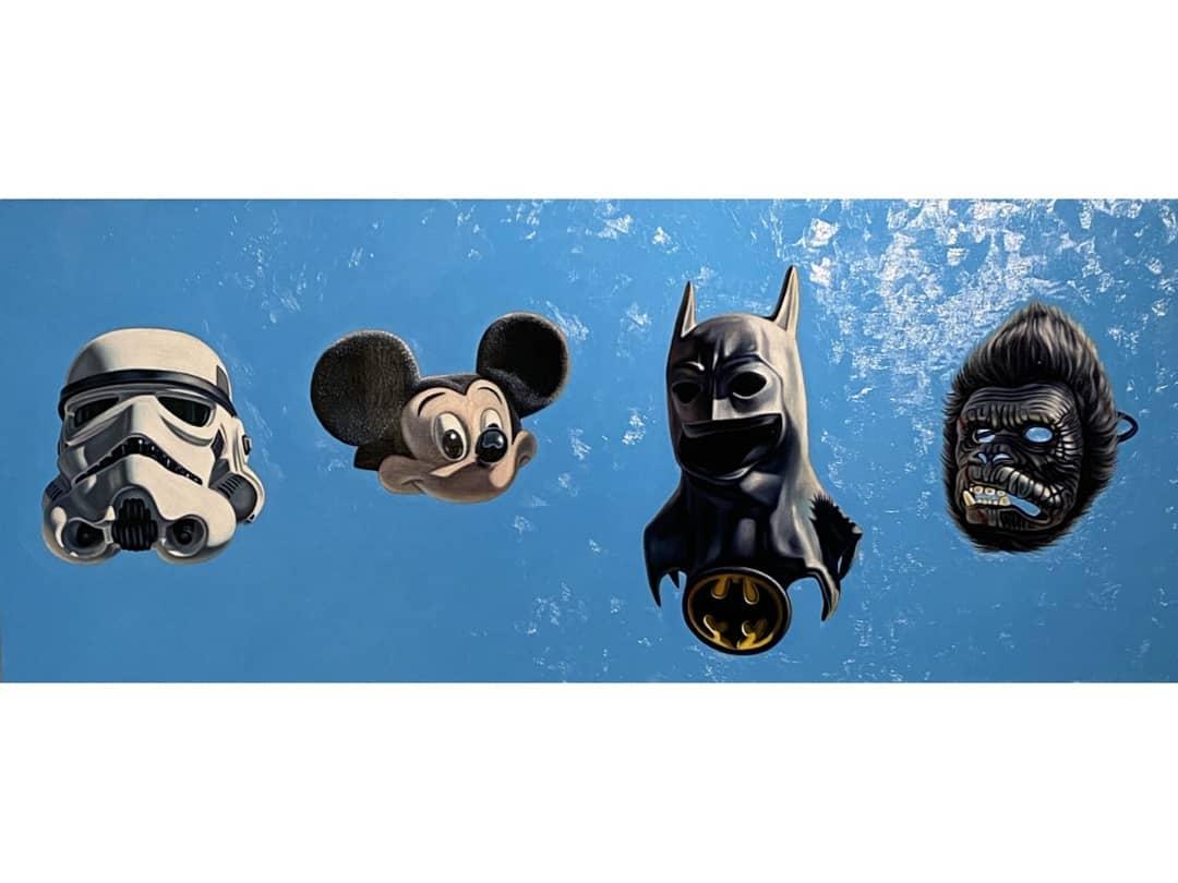Star Wars - Mickey - Batman -
