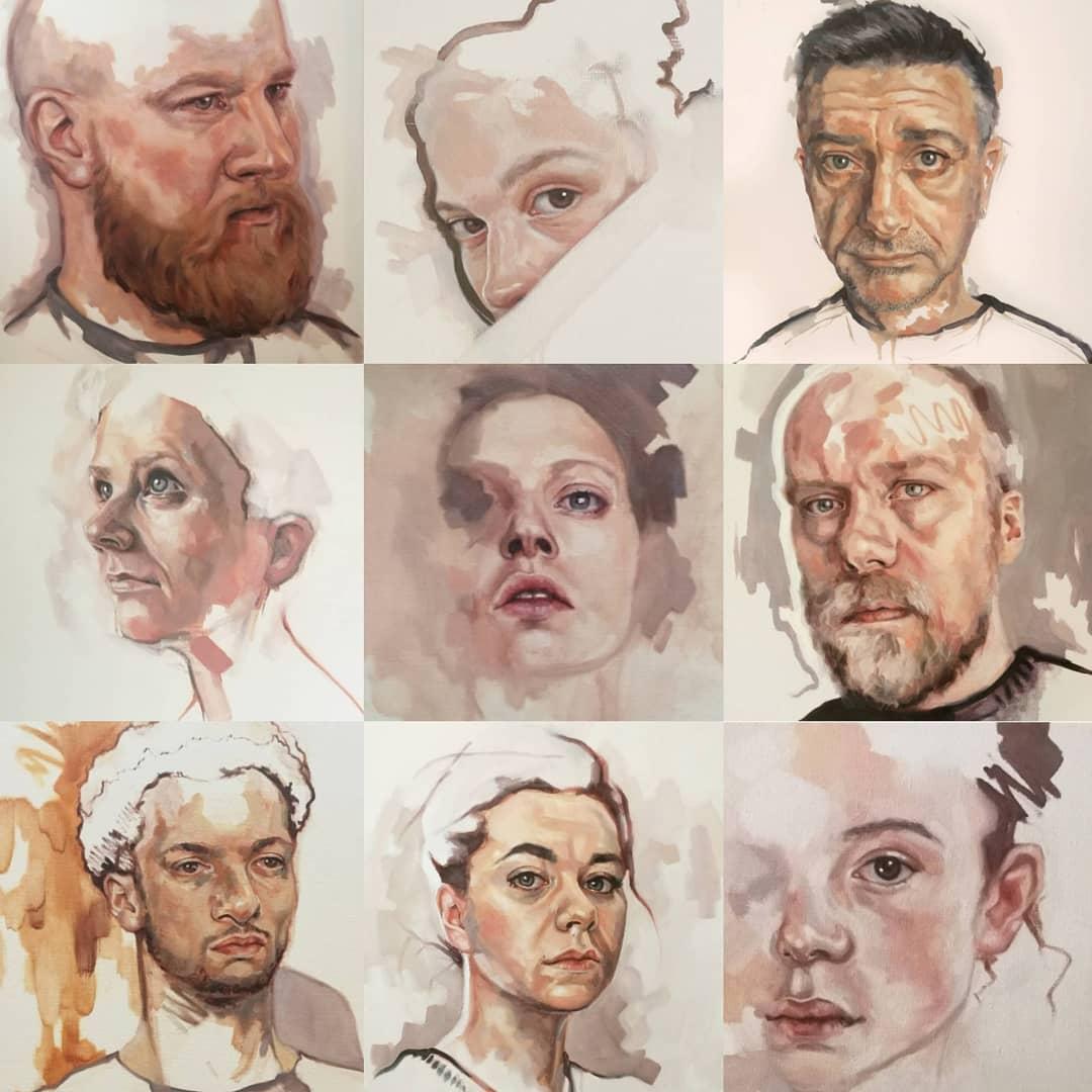 portraits peint par Lucy Pass